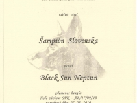 Black - šampionáty